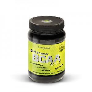 Kompava Instantné aminokyseliny K4 Power BCAA