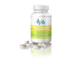 Avita - Cmúľací Vitamín C 500
